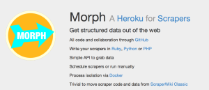 Morph.io, a new scraping platform